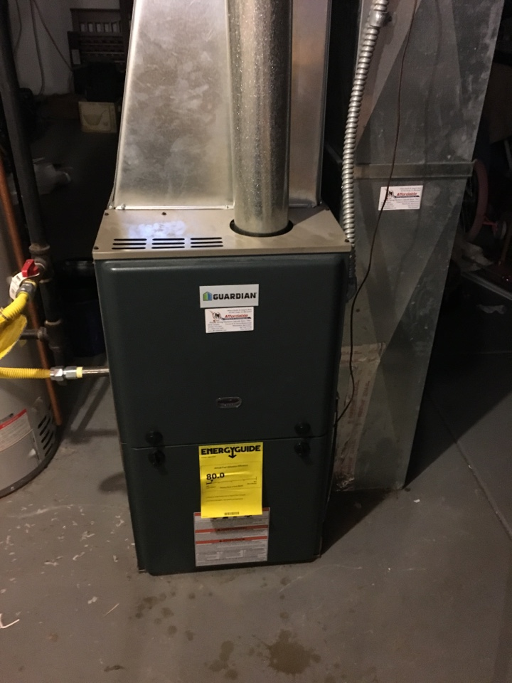 Kersey, CO - Service and repair for Guardian furnace.
