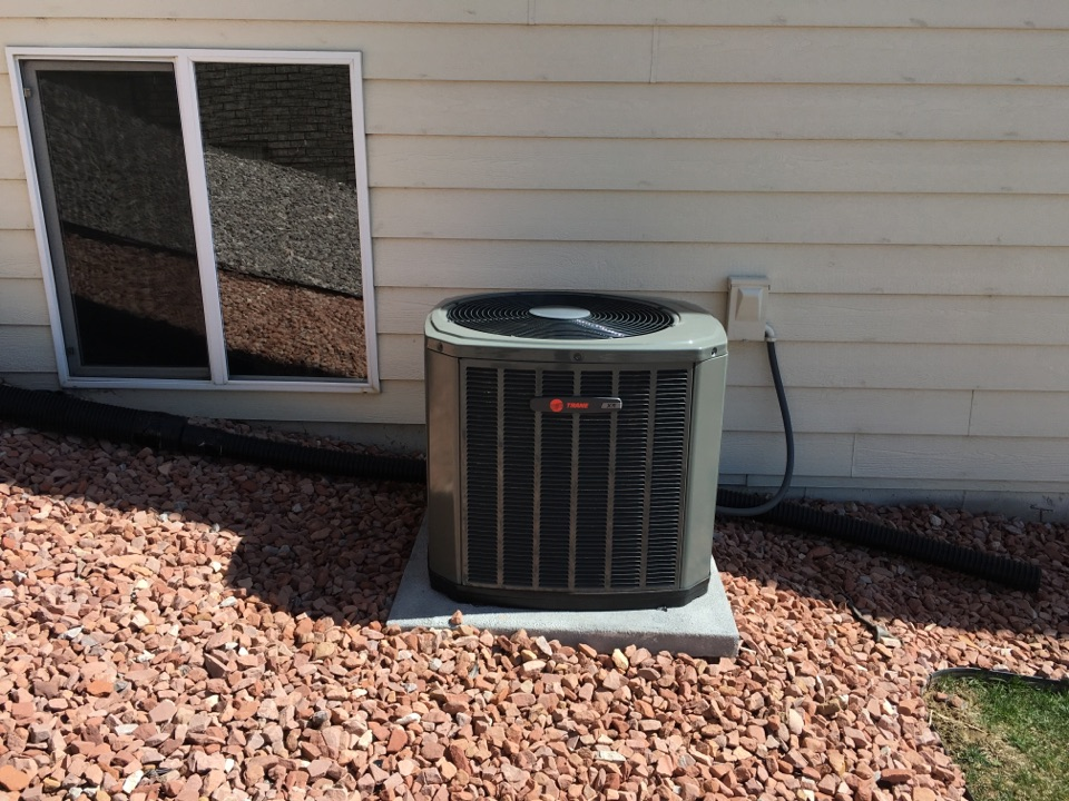 Milliken, CO - Trane AC startup for spring. Furnace and AC install. Tuneup.