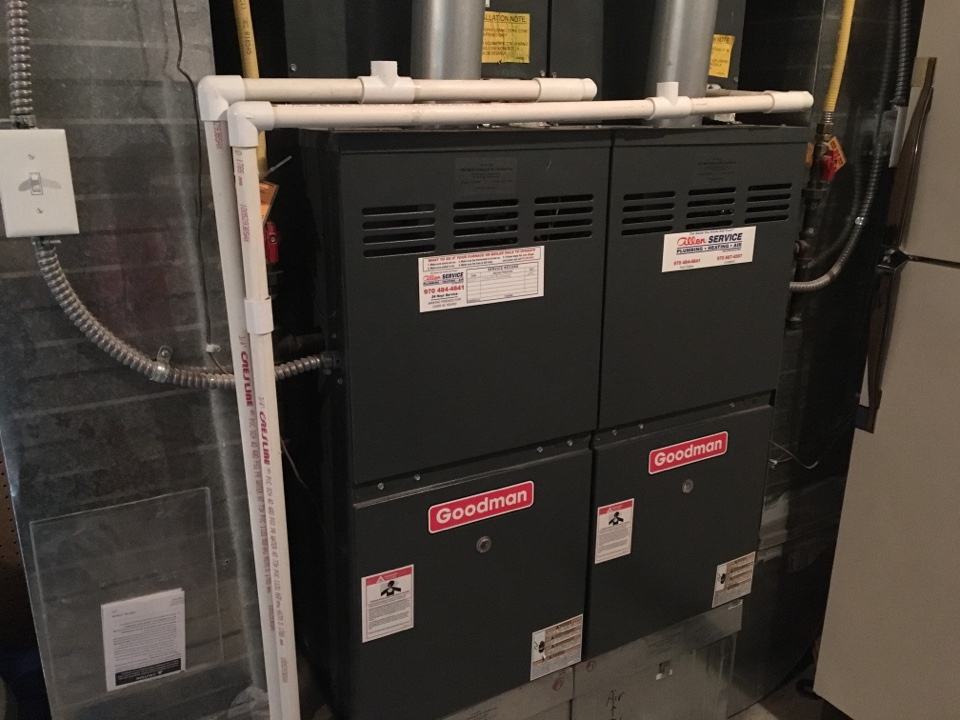 Severance, CO - Goodman furnace blower service and repair.