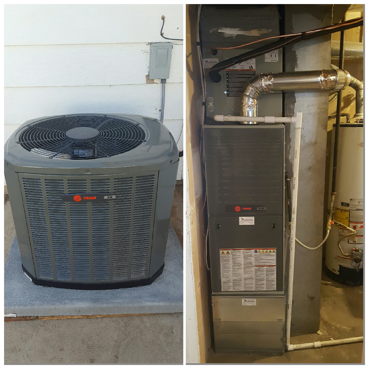 Pierce, CO - Trane high efficient 2 stage furnace with single stage AC
