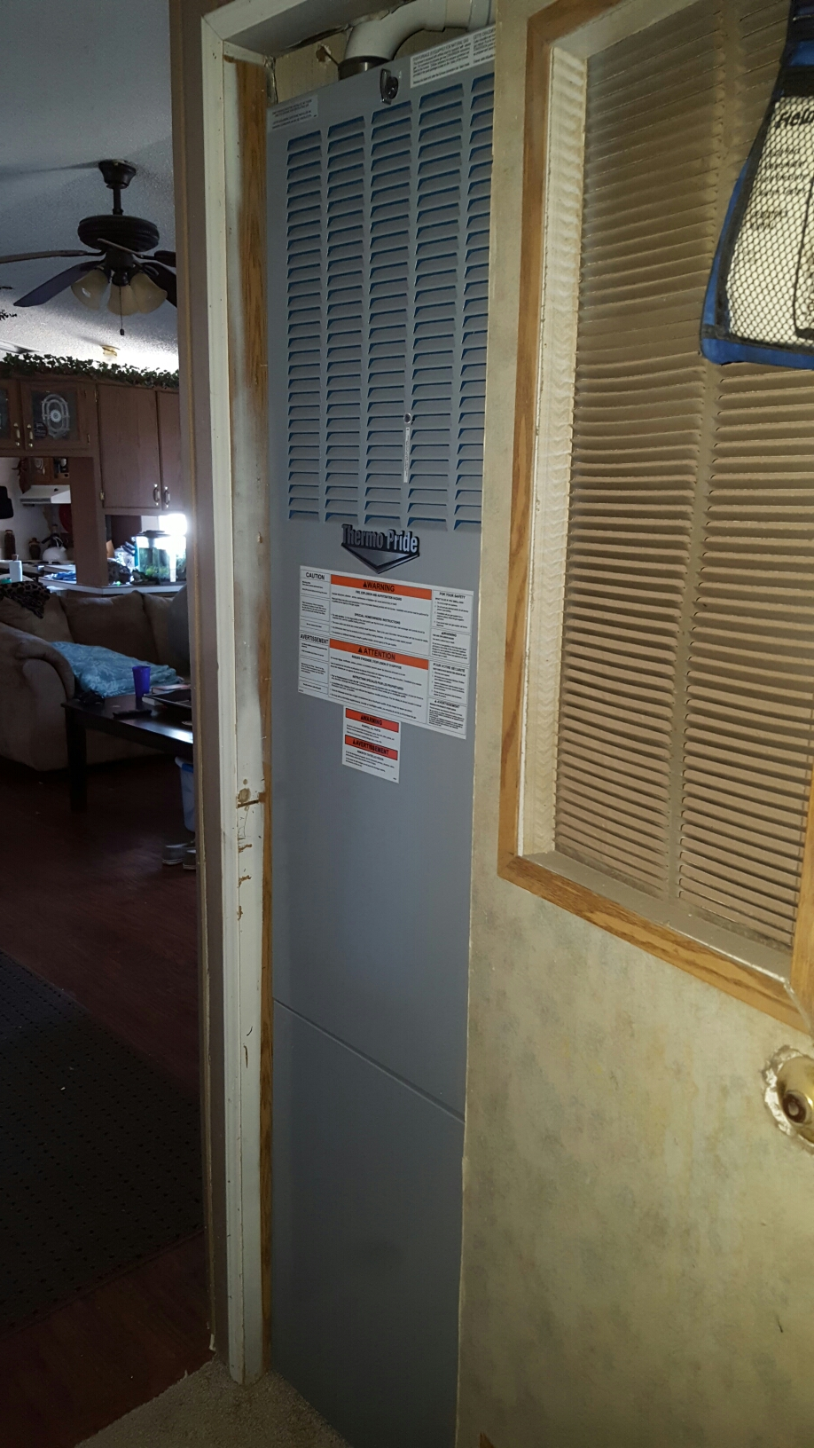 Nunn, CO - Tempstar mobile home furnace install