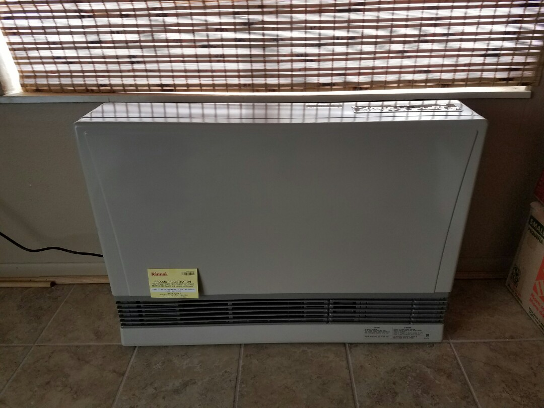 Pierce, CO - Install Rinnai heater Pierce