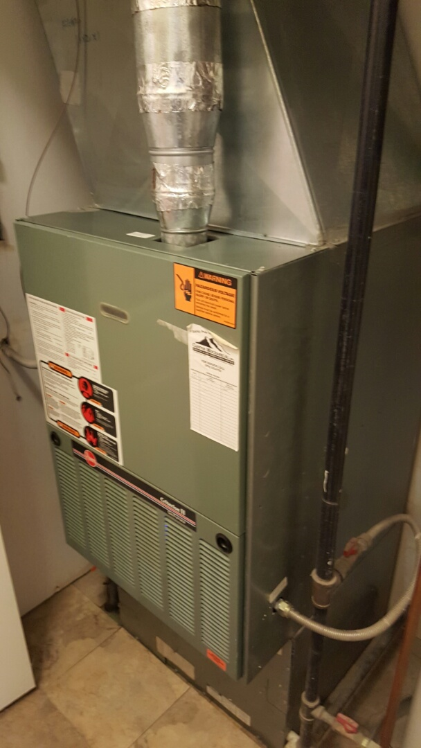 Loveland, CO - Rheem furnace. Service and repair. Clean and check.