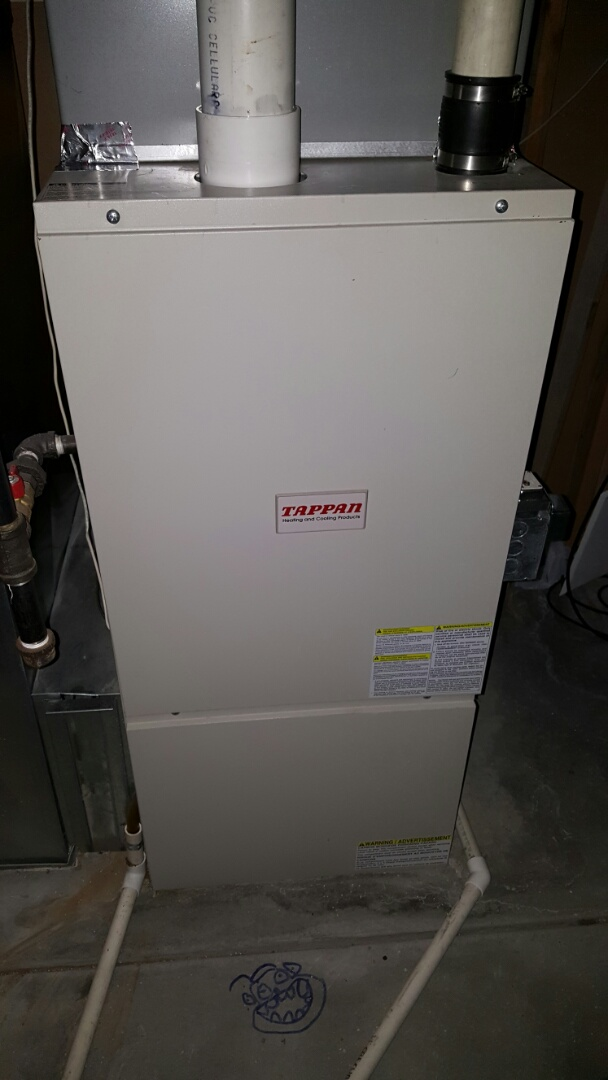 Eaton, CO - Tappan furnace. Service and repair. Clean and check.