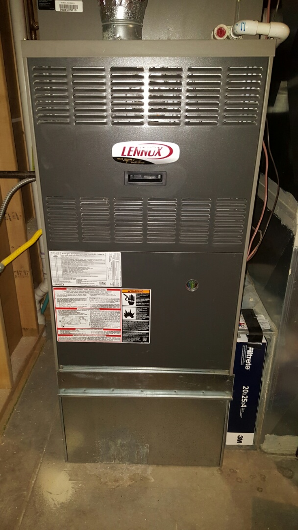 Eaton, CO - Lennox furnace. Service and repair. Clean and check.