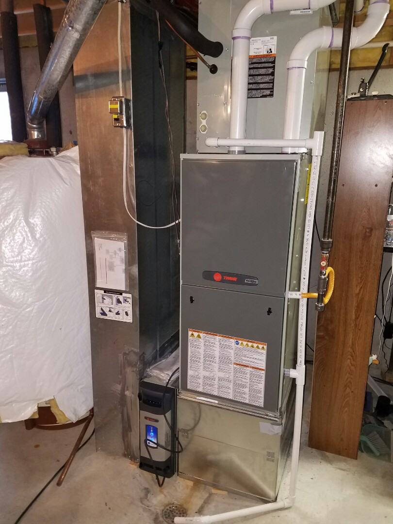 Johnstown, CO - Trane high efficient modulating furnace install Johnstown
