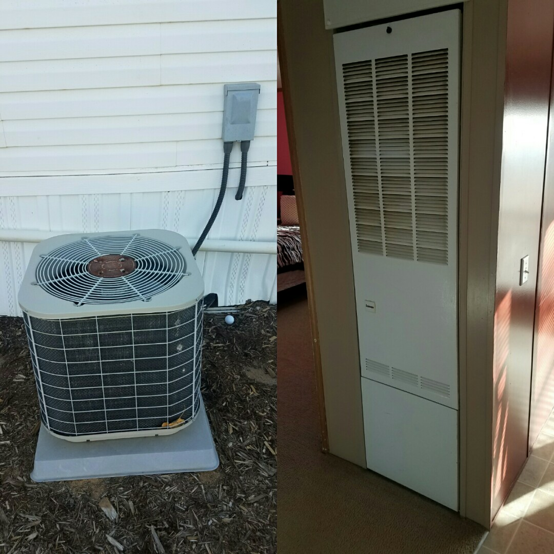 La Salle, CO - Replace Intertherm mobile home furnace and AC