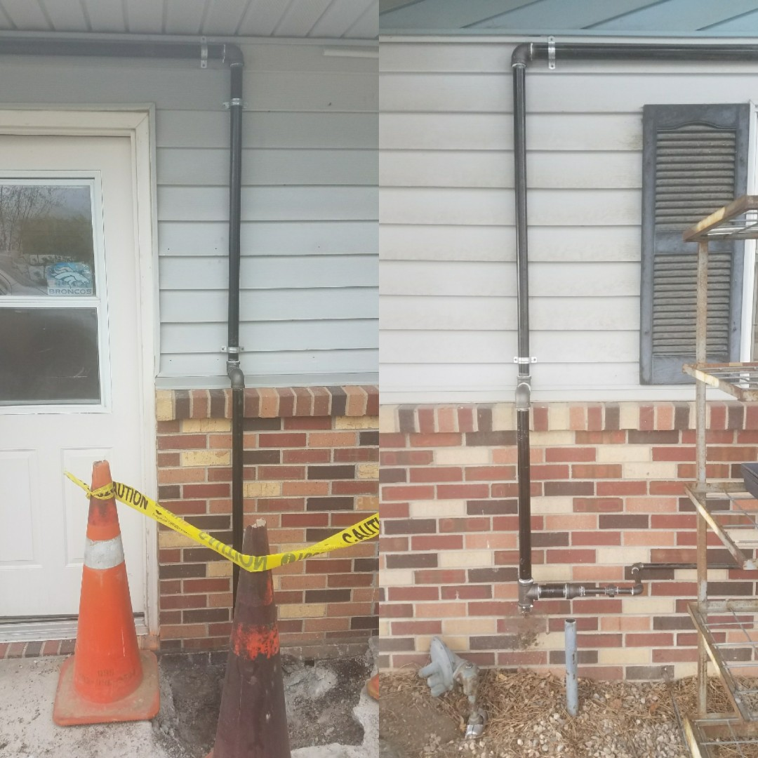 "Fort Collins, CO - Run 50' 1 1/4"" gas line"