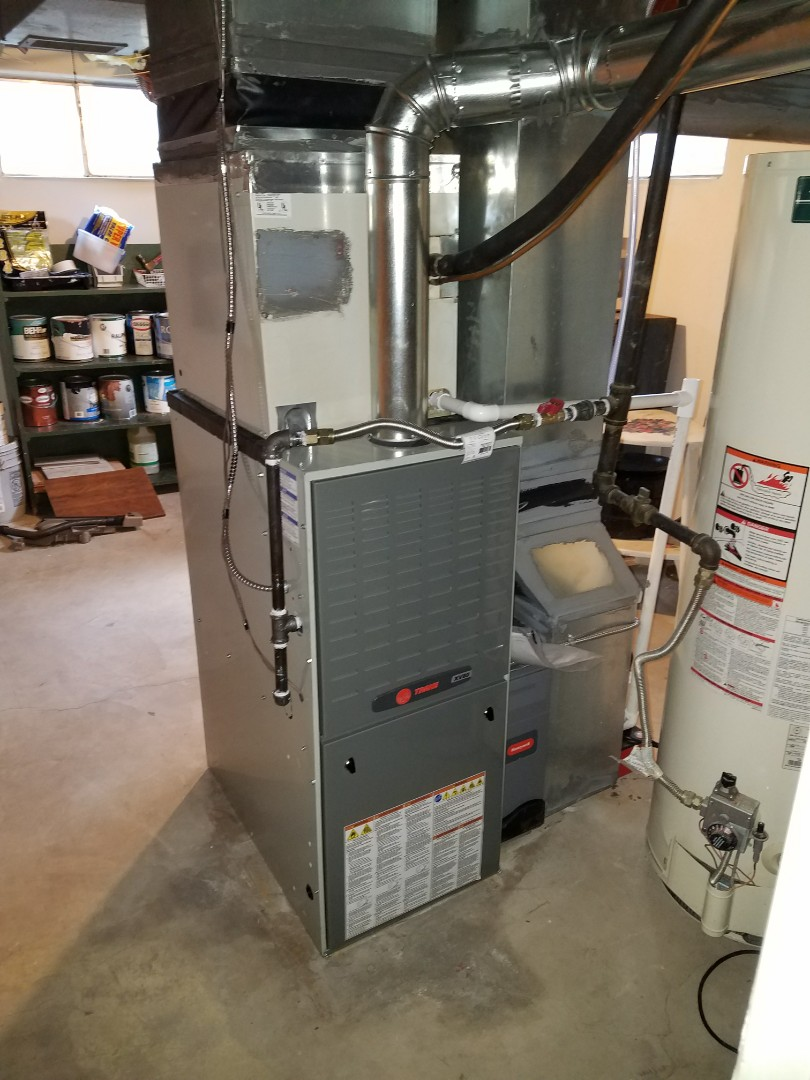 Greeley, CO - XV80 Trane furnace install Greeley