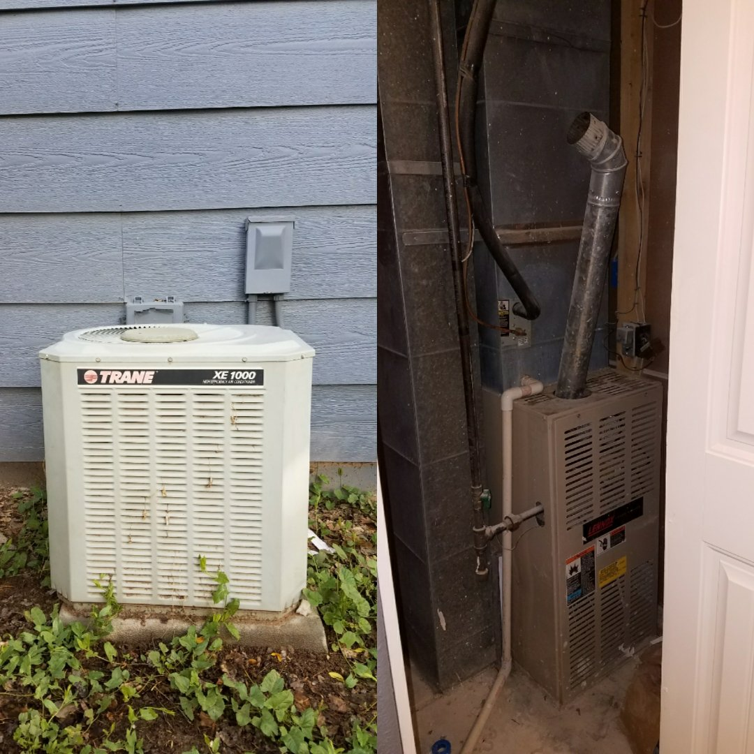 Greeley, CO - Replace furnace and trane AC