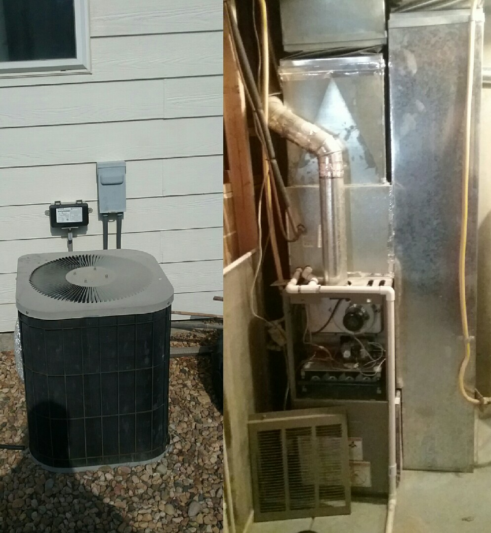 Greeley, CO - Replace Goodman furnace and A/C unit in Greeley
