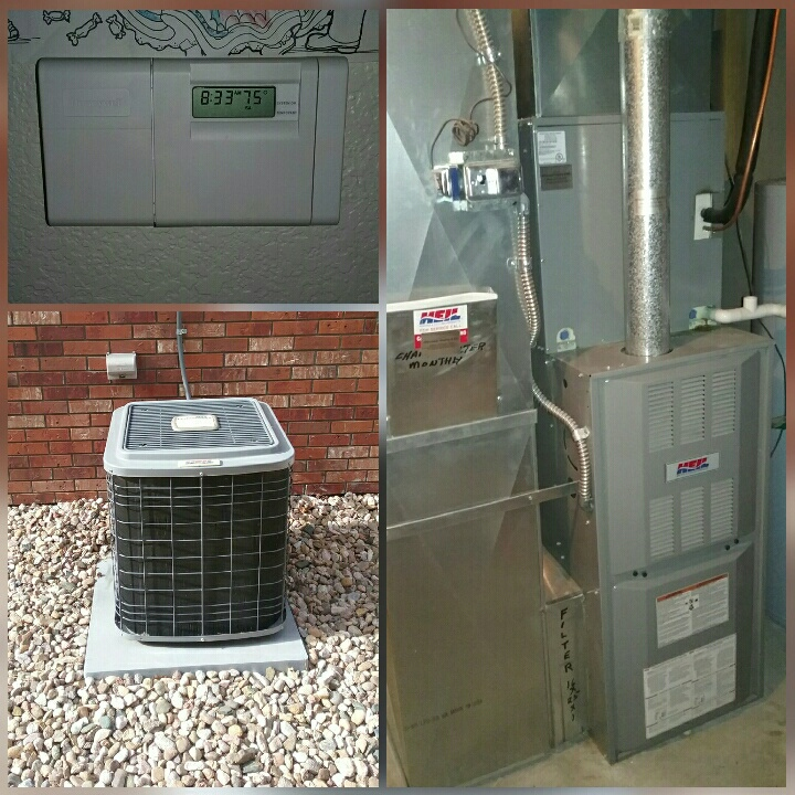 Greeley, CO - Replace Heil furnace and Heil AC in Greeley.