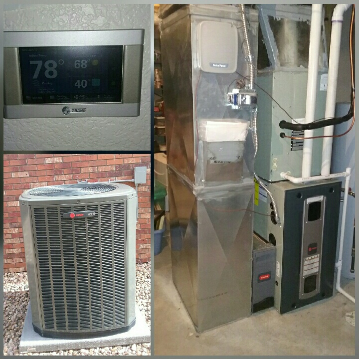 Greeley, CO - Install Trane 2 stage furnace and 2 stage AC