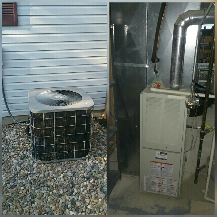 Evans, CO - Relpace Heil furnace and Heil AC in Greeley