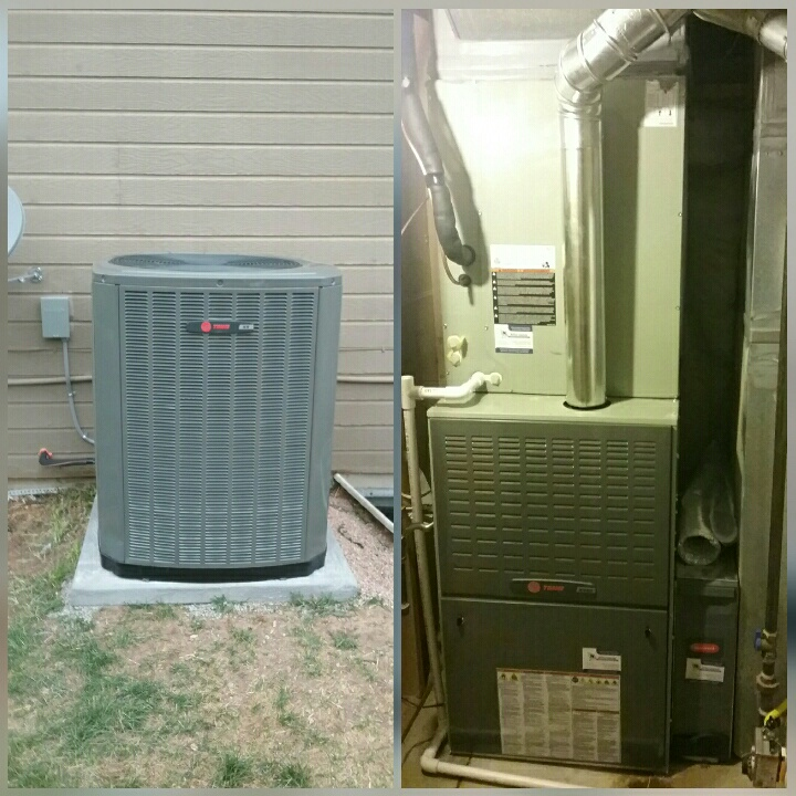 Greeley, CO - Install Trane 2 stage furnace and Trane 2 stage AC in Greeley