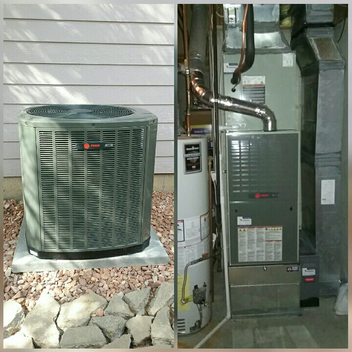 Greeley, CO - Instsll Trabe AC and Trane Variable speed two-stage furnace
