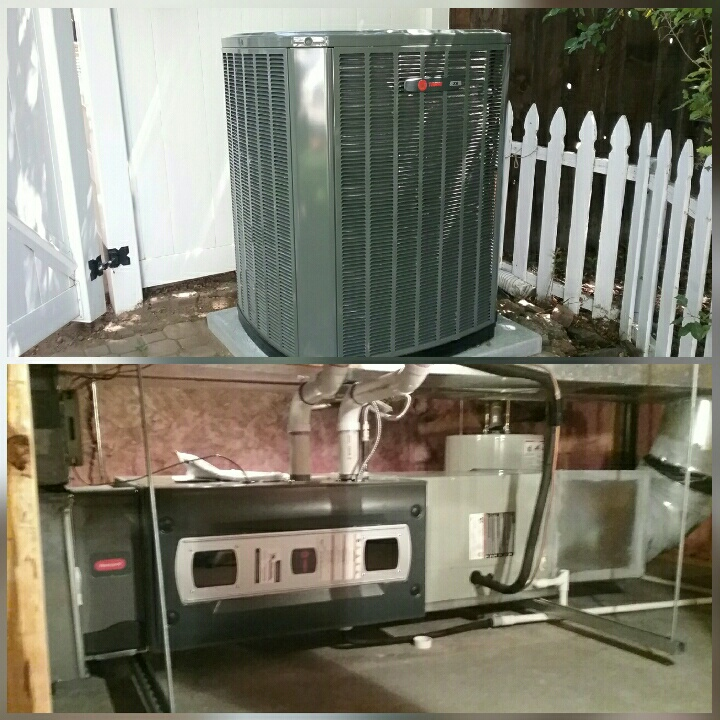 Greeley, CO - Install Trane 2 stage variable speed furnace and 2 stage AC in Greeley
