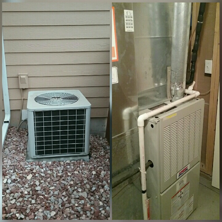 Greeley, CO - Replace Heil furnace and Comfortmaker AC in Greeley