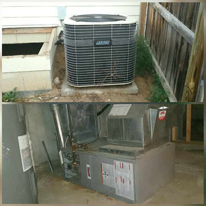 Evans, CO - Replace Heil furnace and Lennox AC in Greeley