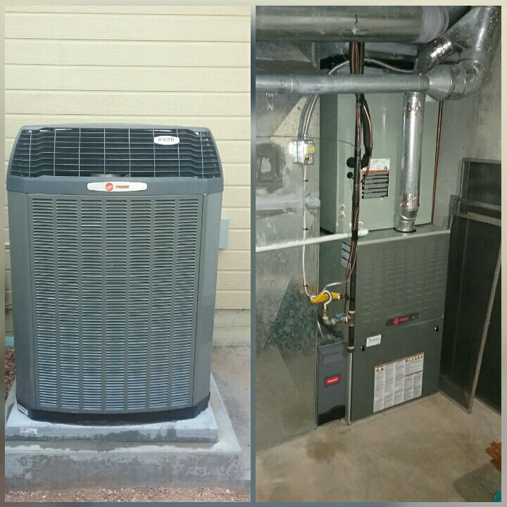 Greeley, CO - Install Trane variable speed comunicatting AC in Greeley