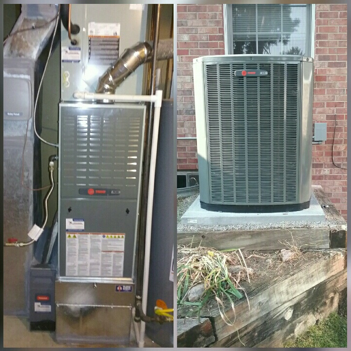Greeley, CO - Install Trane variable speed comunicatting 80% efficient furnace and Trane 2 stage AC in Greeley