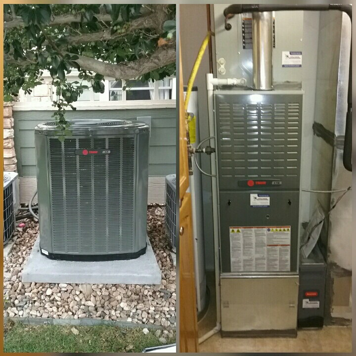 Greeley, CO - Install Trane 80% efficient furnace and Trane AC in Greeley.