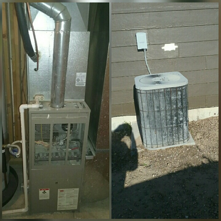 Evans, CO - Replace Goodman furnace and Goodman AC in Greeley