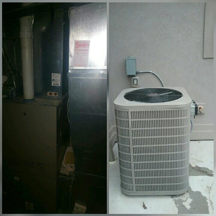 Eaton, CO - Replace Goodman furnace and Goodman AC in Eaton