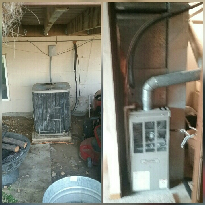 Pierce, CO - Replace Janitrol furnace and Goodman AC in Pierce