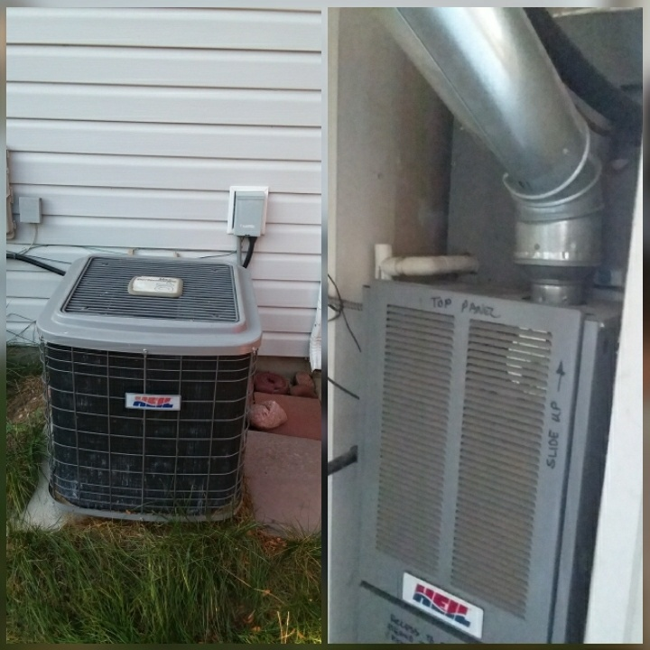 Evans, CO - Replace Heil AC and Heil furnace in Evans