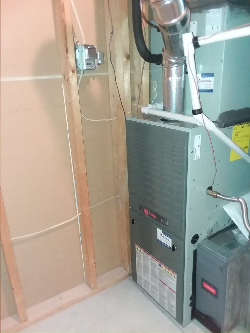 Greeley, CO -  install Trane 80% efficient two stage furnace and Trane AC in Greeley