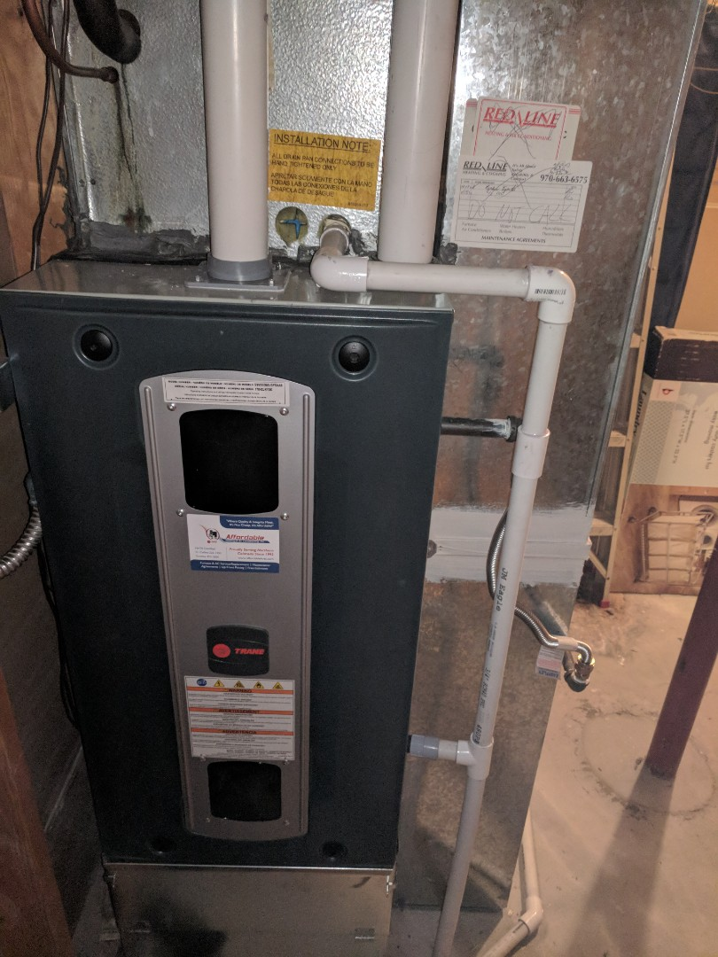 Furnace And Air Conditioning Repair In Windsor Co Fedder Gas Wiring Finished Replacement