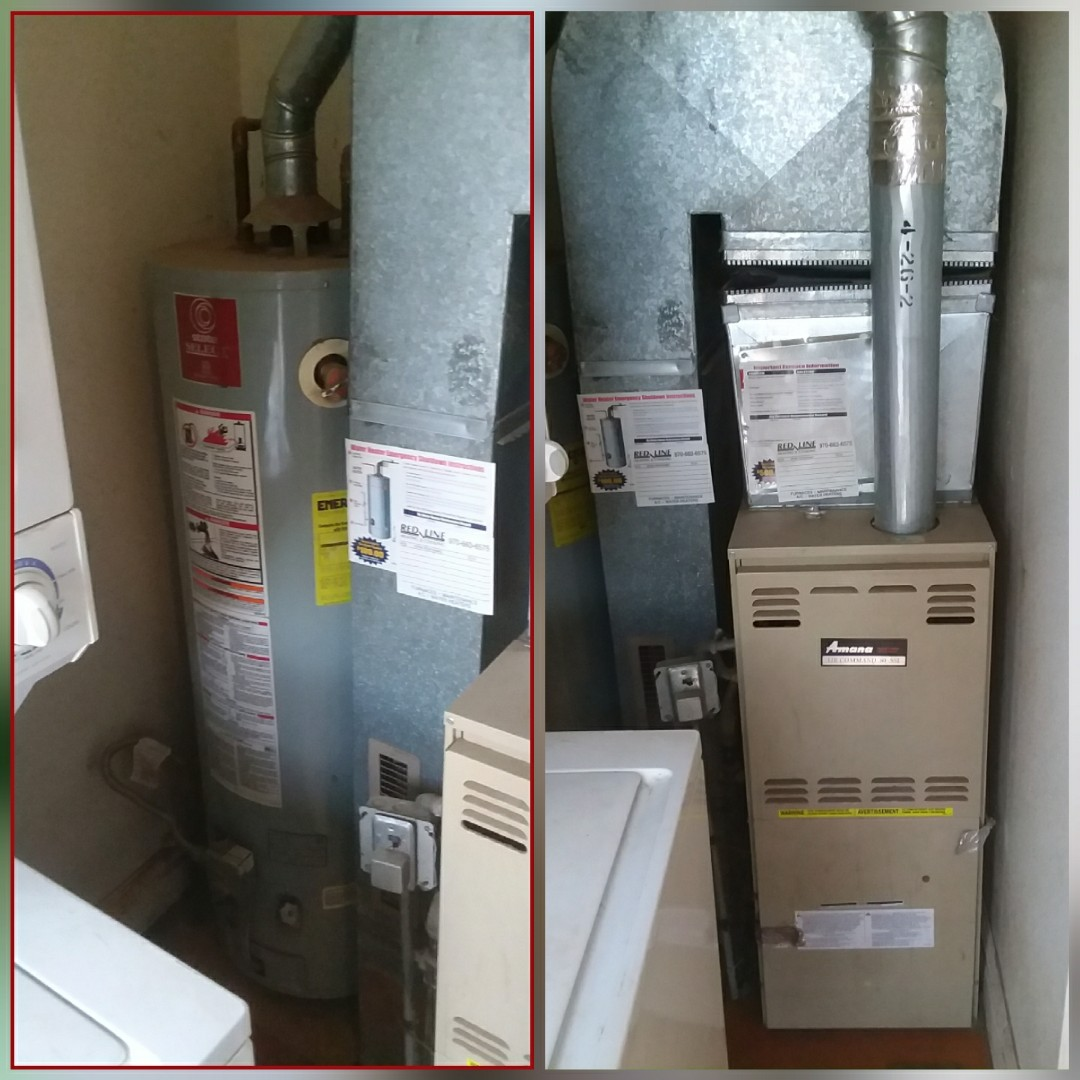 Greeley, CO - Replace Amana furnace and water heater in Greeley