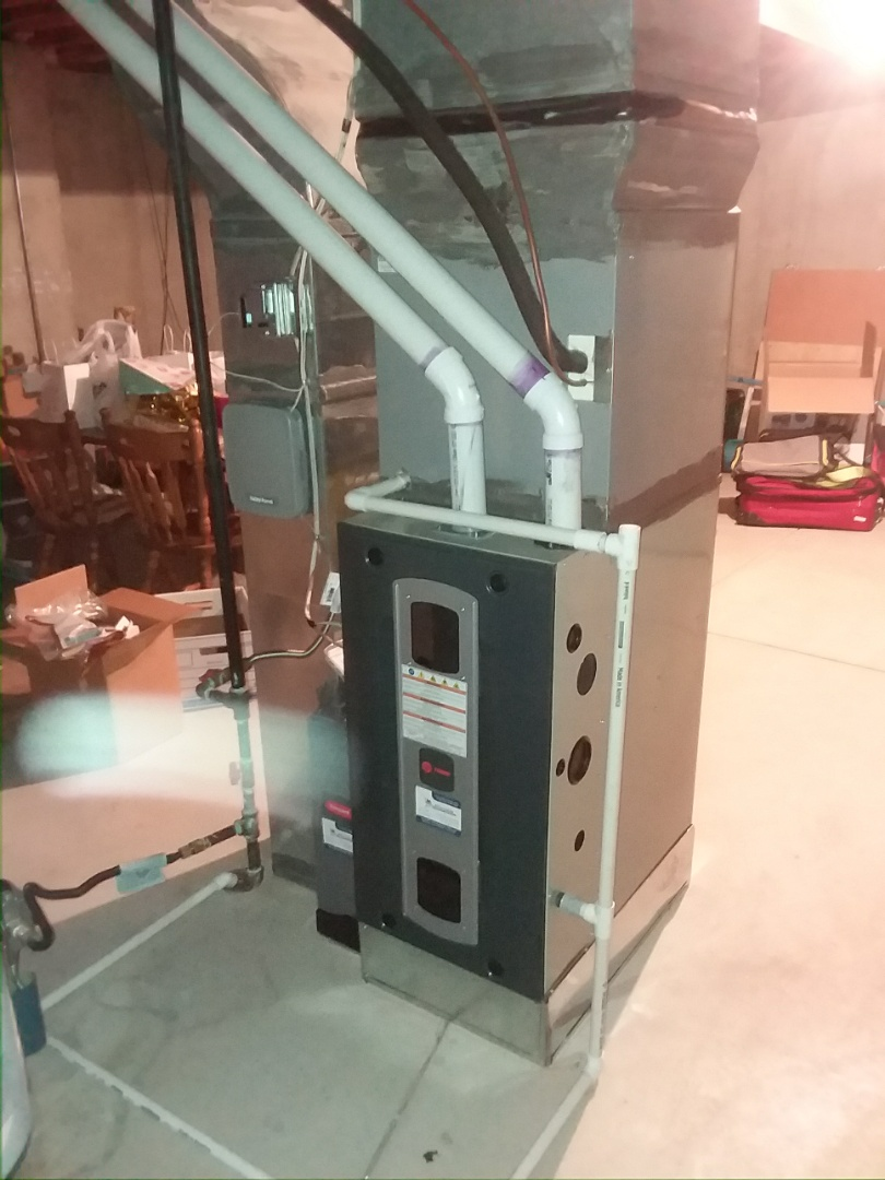 Greeley, CO - Install Trane 2-stage High efficient furnace in Greeley