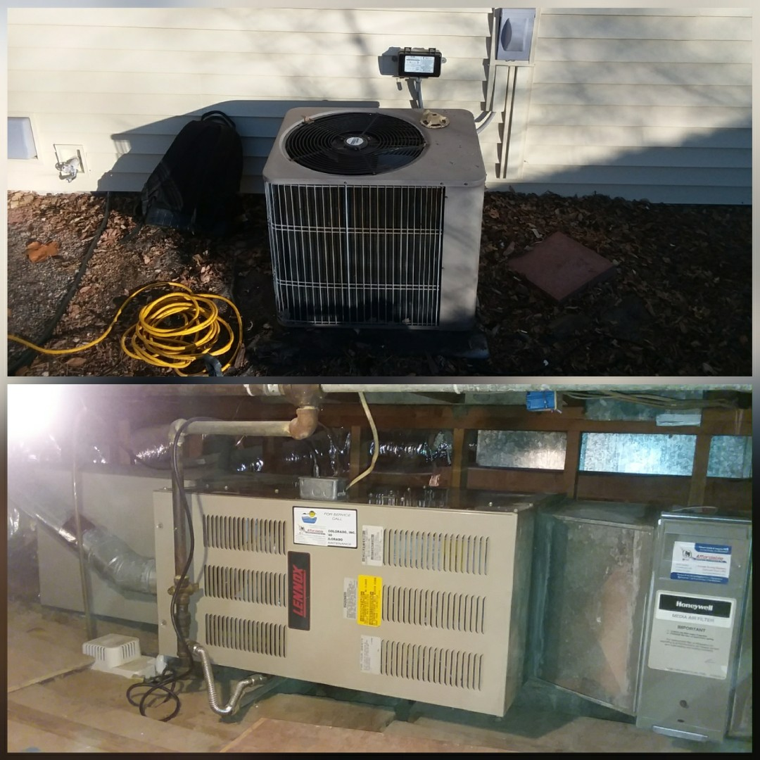 Greeley, CO - Replace Lennox furnace and Lennox AC in Greeley