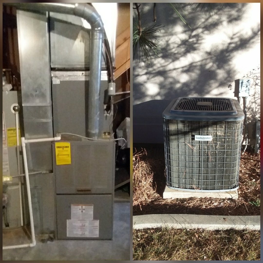 La Salle, CO - Replace Comfortmaker furnace and Comfortmaker AC in LaSalle