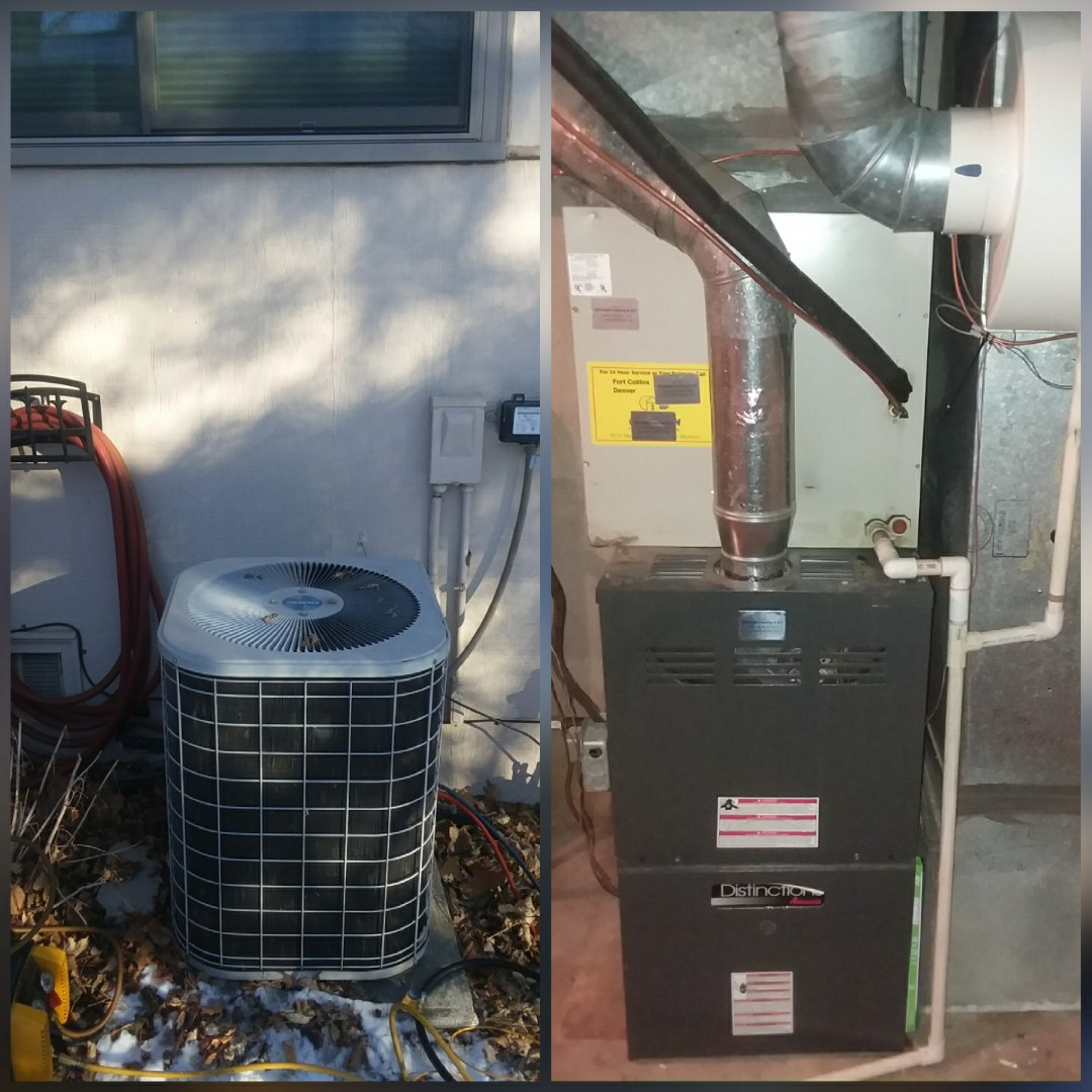 Greeley, CO - Replace Distinction furnace and AC in Greeley