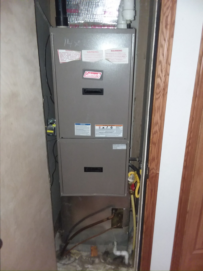 Milliken, CO - Replace Coleman furnace in Milliken
