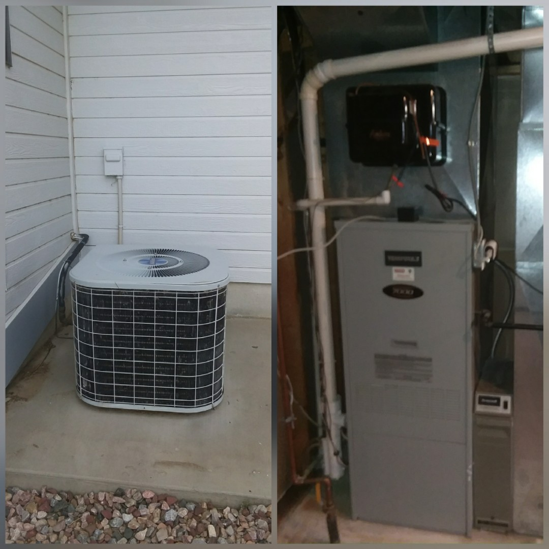 Eaton, CO - Replace Tempstar furnace and Tempstar AC in Eaton