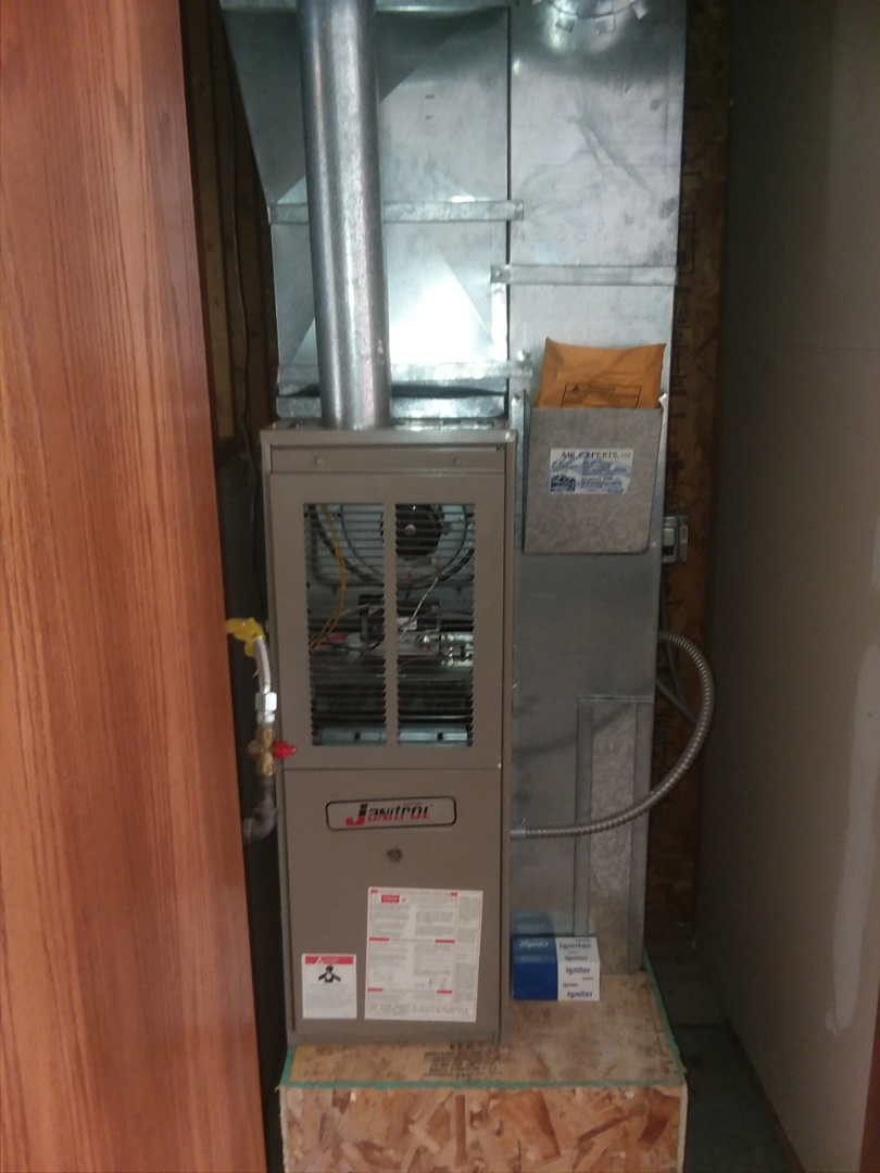 Greeley, CO - Replace janitrol furnace in Greeley