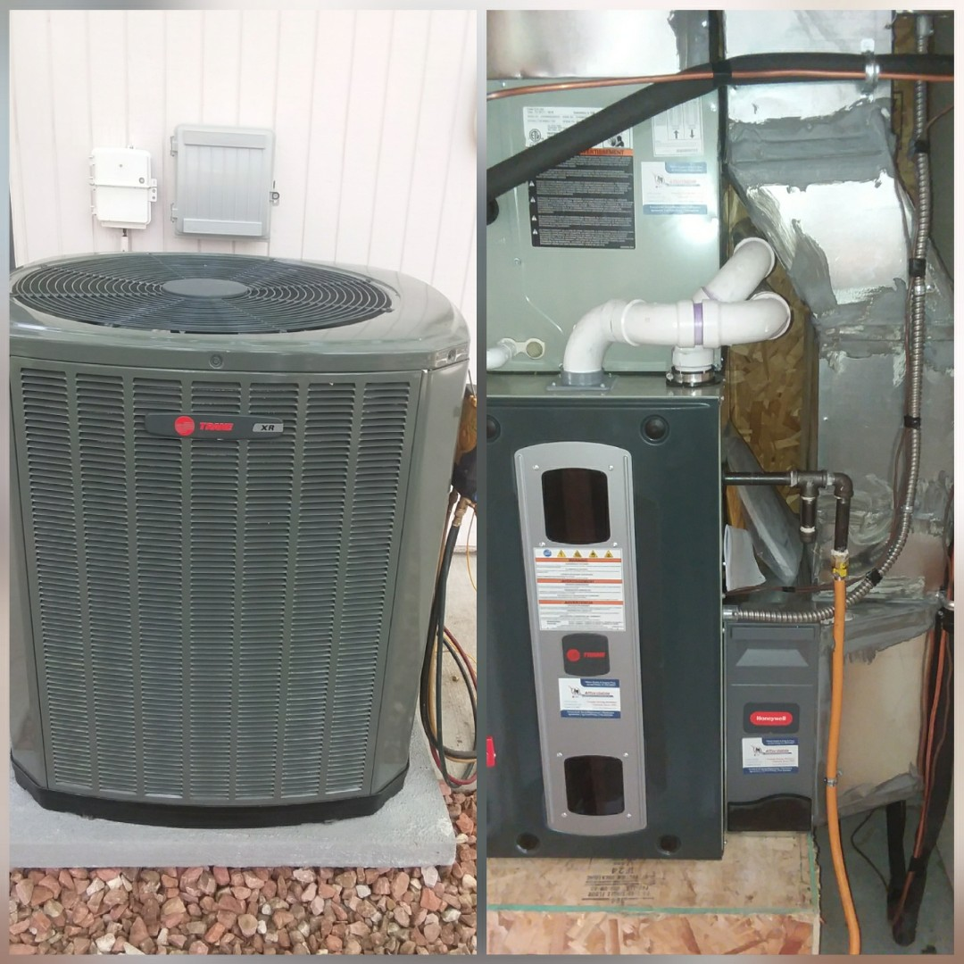 Air Conditioning In Greeley Affordable Heating Denver Services Replacing A Thermostat Meanings Of Co Install Trane 2 Stage Variable Speed Furnace And