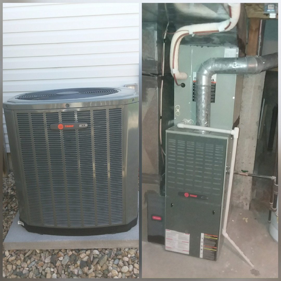 Evans, CO - Install Trane AC in Greeley