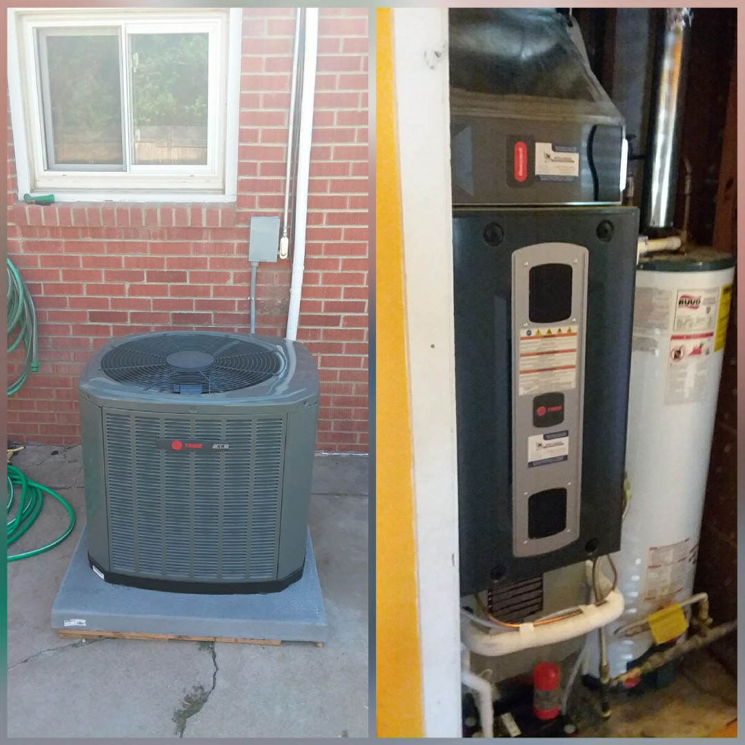 Evans, CO - Install Trane 2-stage variable speed furnace and Trane AC.
