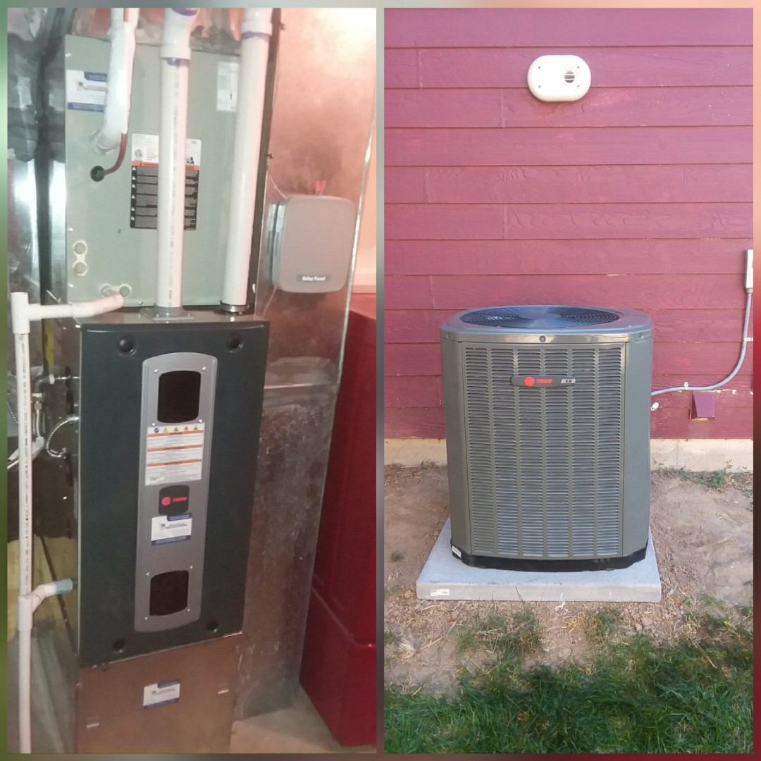 Milliken, CO - Install Trane 2-stage variable speed furnace and Trane AC in Milliken
