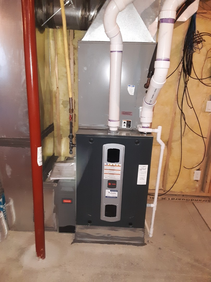 Greeley, CO - Install Trane two-stage variable speed furnace in Severance severance