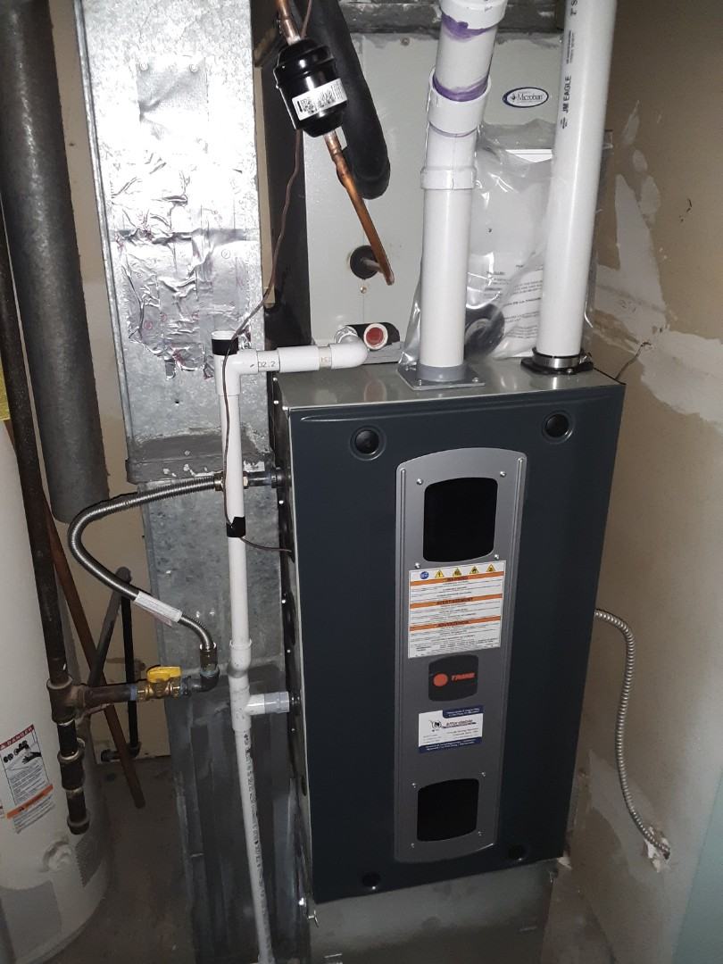 Fort Collins, CO -  install Trane 2-stage High efficient furnace in Fort Collins