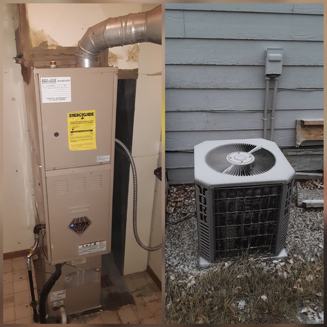 Loveland, CO - Replace York Furnace and York AC in Loveland