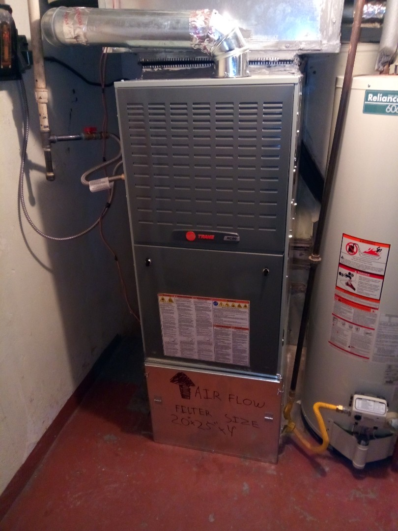 Greeley, CO - Install trane 2 stage variable speed 80% efficient furnace in Greeley