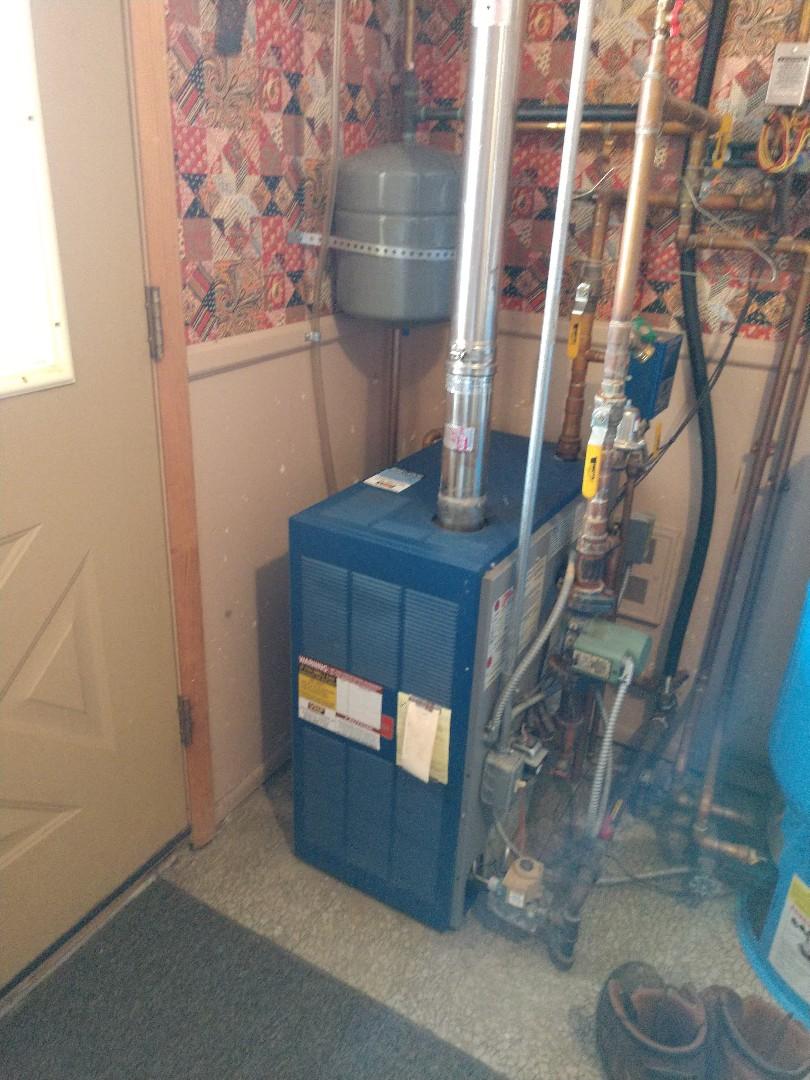 Marysville, MI - Tune up on a Utica boiler