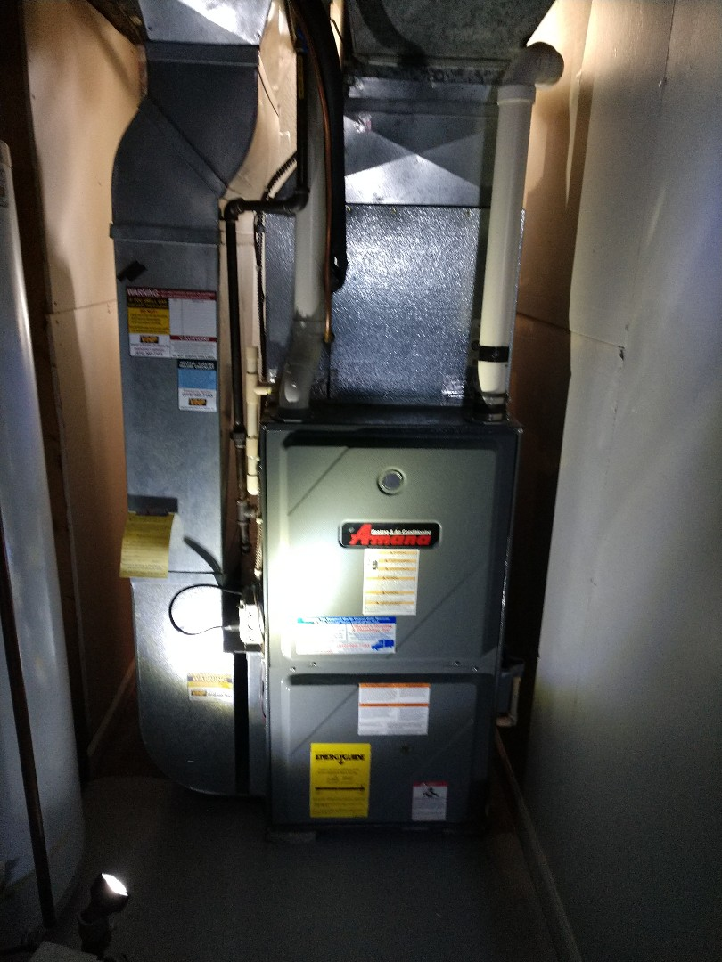 Marysville, MI - Repair on Amana furnace